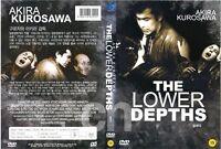 THE LOWER DEPTHS (1957) - Akira Kurosawa  DVD NEW