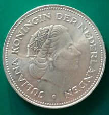 Netherlands Silbermünze - 10 Gulden, 1970