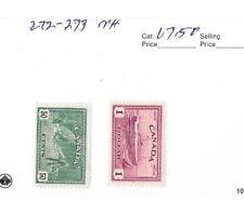 CANADA 1946 HIGH VALUES,SCOTT 272 - #273 MNH.