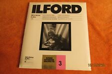 "Ilford Ilfobrom Galerie Fb Bw Enlarging Paper, 8x10""-25 Sheets Glossy, Grade 3"
