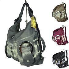 2in1 Damen Handtasche Rucksacktasche Rucksack Multifunktionstasche PPWH W6802Z