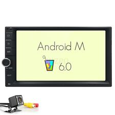 "2Din 7"" Android 6.0 Car Radio Stereo NO-DVD Player GPS Nav OBD BT 3G WiFi USA"