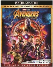 Avengers: Infinity War [New 4K UHD Blu-ray] With Blu-Ray, 4K Mastering, Ac-3/D