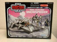 Hasbro Star Wars TESB REBEL ARMORED SNOWSPEEDER Target Exclusive