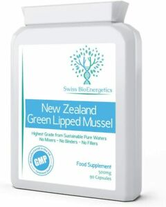 Green Lipped Mussel 500mg 90 Capsules –expertly extracted Using CO2