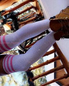 Sexy Women Bling Glitter Crystal Long High Knee Stocking Rhinestone Socks Thigh