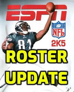 ESPN NFL 2K5 2021 2022 Update Memory Card USB Original Xbox 2K21 2K22 Madden 22