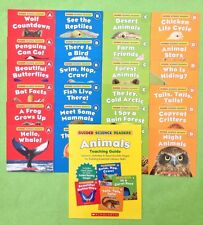 Science Lot 24 Childrens Books Animals Nonfiction Leveled Readers Teaching Guide