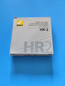 Nikon HR-2 Rubber Lens Hood for AI-S 50mm f/1.2 AF 50mm f/1.4D f/1.8D DN
