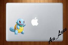 Macbook Air Pro Vinyl Skin Sticker Decal Pokemon Go Squirtle Cute Water cmac202