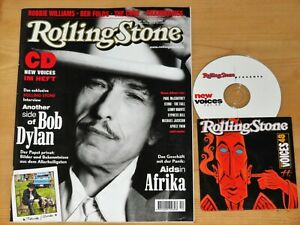 Rolling Stone + New Voices CD Dezember 2001 Interview: Another Side of Bob Dylan