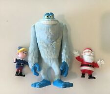 Bumble The Abominable Snowman, Santa, & Hermie Herbie Elf Christmas Figures