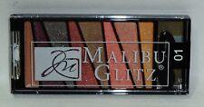 MALIBU GLITZ Illuminator Eyeshadow & Blush Palette 8 Shades #01