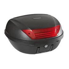 Bauletto moto 52 litri Colore nero goffrato Completo di piastra e viti fissaggio