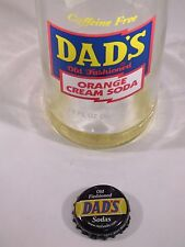 BEER Bottle Cap ~ DAD'S Old Fashioned Root Beer, Cream Soda ~ Chicago Since 1937