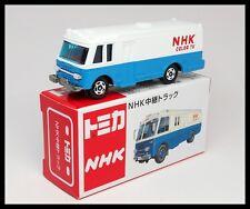 TOMICA NHK ISUZU BUS COLOR TV 1/122 TOMY DIECAST CAR NEW NHK