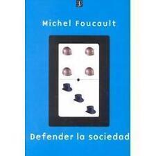 Defender La Sociedad: By Michel Foucault