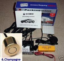 CISBO Parking Reversing Sensor 4 Sensors Audio  Buzzer in Champagne colour
