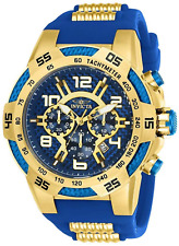 Invicta Men's Speedway 24232 ViperII Stainless Steel Chrono Silicone Strap Watch