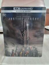 Zack Snyder's Justice League International Region Free Steelbook (4K/Blu-ray)
