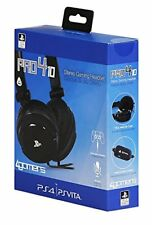 4gamers Playstation 4/vita Officially Licensed Stereo Gaming Headset Black