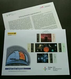 [SJ] Germany Solar System 2011 Astronomy Space Planet Galaxy (stamp FDC)