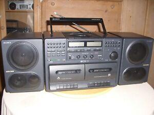 Radiorecorder/Ghettoblaster/Baustelle-Radio Sony CFD-750 L - made in Japan -