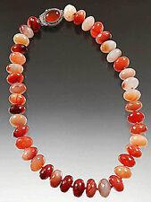 Sale - Bess Heitner Carnelian Rondel Collar