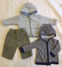 Little Niños Ropa Paquete (2 Prendas para el torso 1 Pantalón) 3-6 meses de edad