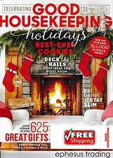 GOOD HOUSEKEEPING Back Issue Holidays Cookies Room Gift Ideas December 2015 MINT