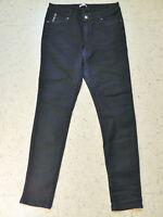 ORSAY Stretch Röhren Hose Gr. 42 dunkelblau fast schwarz