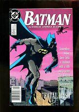 BATMAN 422 (6.0) AUTO JIM STARLIN W COA DC (s002)