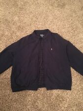 Ralph Lauren Jacket XL Plaid Lined Windbreaker Coat