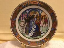 The Golden Classic Plate Collection The Snow Queen Fairy Tale Carol Lawson 22K
