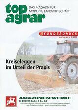 Amazone toupie Herses Spécial pression Top agricole 6/00 2000 machines agricoles Allemagne