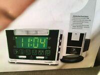 Independent Vibrating Alarm Clock Receiver Hanging Door Sensor Hearing Impaired
