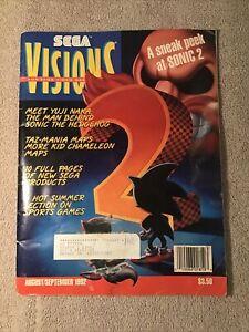 Sega Visions Magazine August / September 1992 - Sonic 2