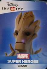 Disney Infinity 2.0 Marvel Guardians of the Galaxy Groot Web Code Card