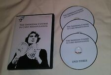 Jeff Sheridan Card Magic Dvd Manipulation Flourishes Cardini Thurston Dai Vernon