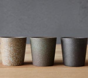 Japanese Tea Cup Ceramic 55/70ml Minimalist Pottery Loose Leaf Handmade Artisan