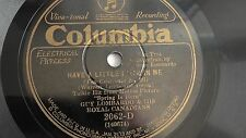 Guy Lombardo - 78rpm single 10-inch – Columbia #2062-D Have A Little Faith In Me
