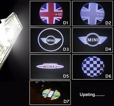 2 x LED Door Courtesy Laser Light for For Bmw Mini Cooper ONE S JCW F55 F56