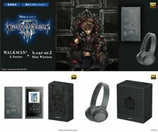 Pre kingdom hearts III edition sony walkman & headphones set nw-a55/wh-h800