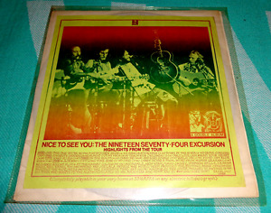 Crosby, Stills, Nash & Young – Nice To See You: The 1974 Excursion 2 Record LP