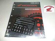 GENUINE HONDA SERVICE SHOP MANUAL REBEL 250 CMX250 1996-2016