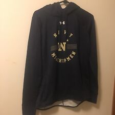 Navy Midshipmen Womens Sweatshirt underarmour size small