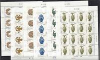 China 2017-17 Full S/S Phoenix Cultural Relics Stamp 鳳文化