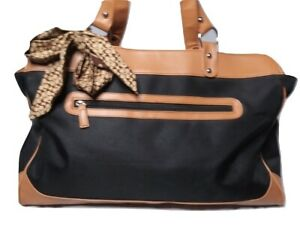 Barr + Barr Tote & Coach Scarf Lot  of 2