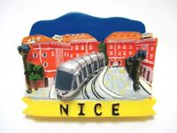 Nizza Nice Poly Magnet Frankreich France Reise Souvenir Fridge