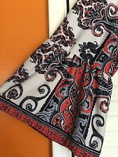 2X New Peasant Top Floral Dress Sundress Blue Coral White Boho Paisley 18/20